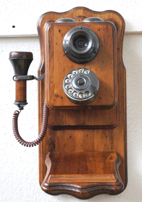 Uraltes Wandtelefon, Replika Image
