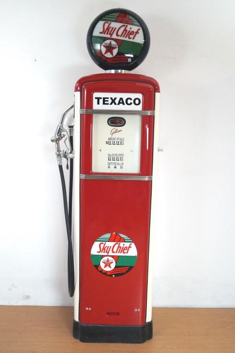 "Große Zapfsäule, ""Texaco"" Image"