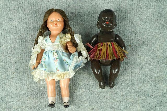 2 kleine Celba Puppen Image